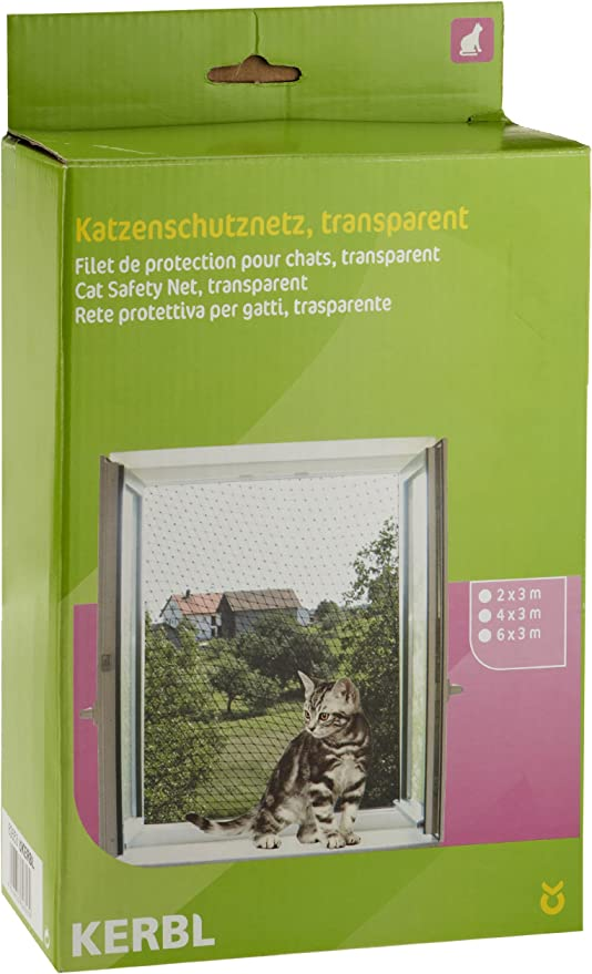 Red de protección para gatos 2 x 3 m, transparente: Amazon.es: Productos para mascotas