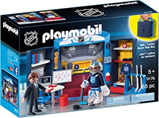 Playmobil 9176 NHL Locker Room Play Box