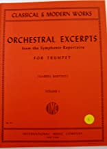 Orchestral Excerpts From the Symphonic Repertoire for Trumpet, Volume I (Classical & Modern Works)