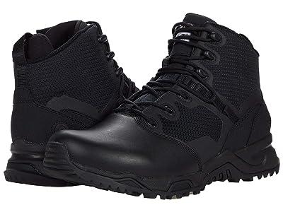 Original S.W.A.T. Alpha Fury 6 Side Zip Leather Toe