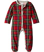 Tartan One-Piece Footed Sleeper (Infant)