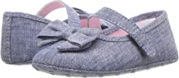Chambray Bow Ballet (Infant)