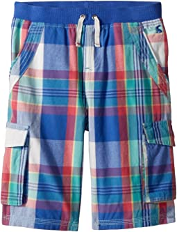 Joules Kids Plaid Cargo Shorts (Toddler/Little Kids/Big Kids)
