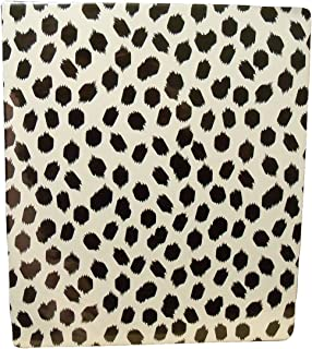 Carolina Pad Studio C The Gold Digger Collection 1 Inch O-Ring Vinyl Binder with Pockets (Cheetah, 10 Inches x 11.5 Inches)