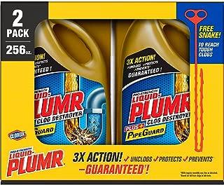 Liquid Plumr Full Clog Destroyer Pro Strength 2 pk.128 oz. Bottles