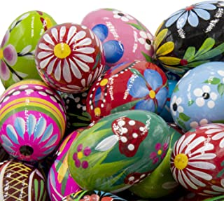 Best hand painted wooden easter eggs Reviews