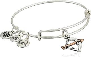 Alex and Ani Women's Cupid's Arrow Two-Tone Bangle Bracelet
