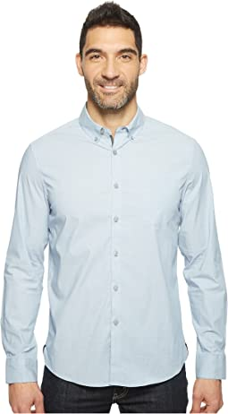 Long Sleeve Stretch End on End Shirt