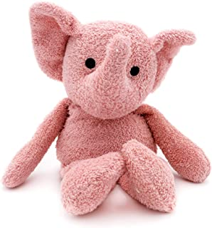 Thermal-Aid Zoo — Tiny the Elephant — Kids Hot and Cold Pain Relief Heating Pad Microwavable Stuffed Animal and Cooling Pa...