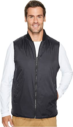 Kenneth Cole Sportswear - Reversible Knit/Nylon Vest