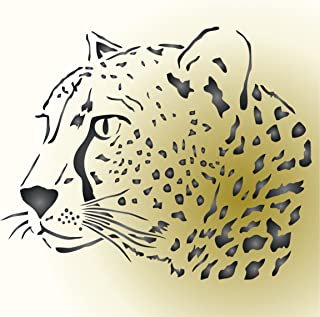 Best large leopard wall stencil Reviews