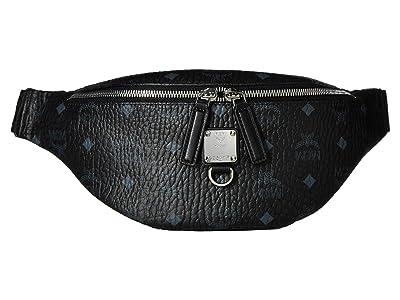 MCM Fursten Visetos Belt Bag Small (Black) Bags
