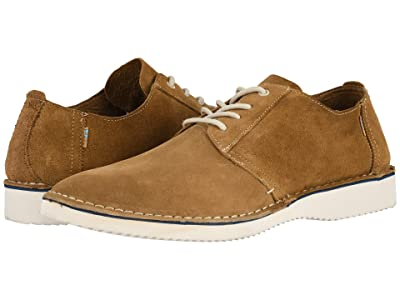 TOMS Preston (Brown Pig Suede/Stitch Out) Men