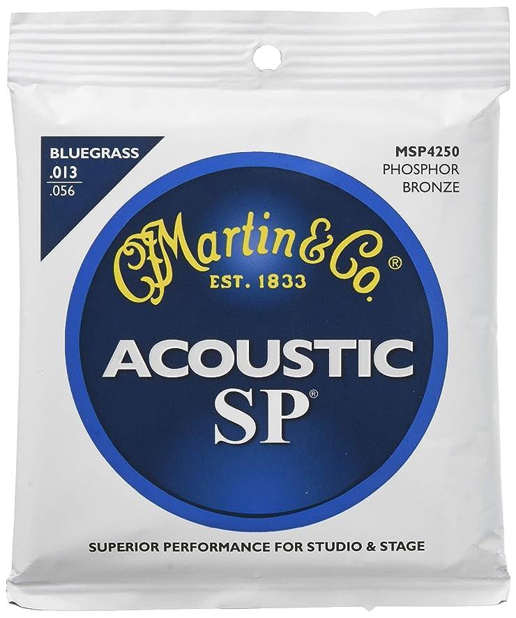仲人呼び起こすご近所Martin アコースティックギター弦 SP ACOUSTIC?(92/8 Phospher Bronze) MSP-4250 Bluegrass .012-.056