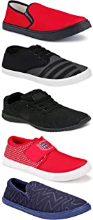 WORLD WEAR FOOTWEAR Sports Running Shoes/Casual/Sneakers/Loafers Shoes for MenMulticolors (Combo-(5)-1219-1221-1140-725-1110)