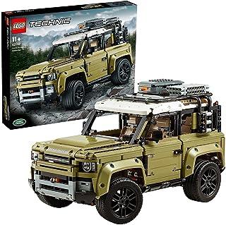LEGO 42110 Technic Land Rover Defender Off Road 4x4 Car, Collectible Model, Advanced Building Set