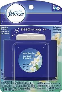 Febreze Sleep Serenity Bedside Diffuser, Set & Refresh, Quiet Jasmine (1 Count, 5.5 Ml)