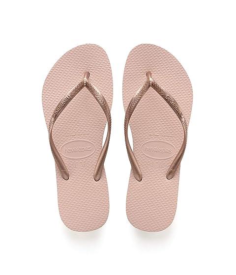 Details about  /Havaianas NEW Women/'s Slim Sensation Flip Flops Pink Porcelain BNWT
