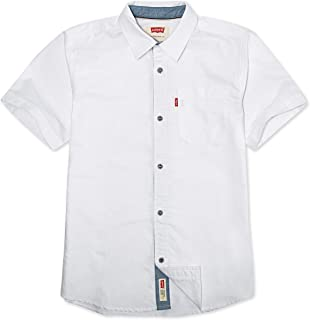 Levi's Boys' Short Sleeve Button Up Shirt