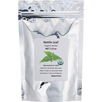 Organic Nettle Leaf - Urtica dioica Loose Leaf 100% from Nature (1 oz)