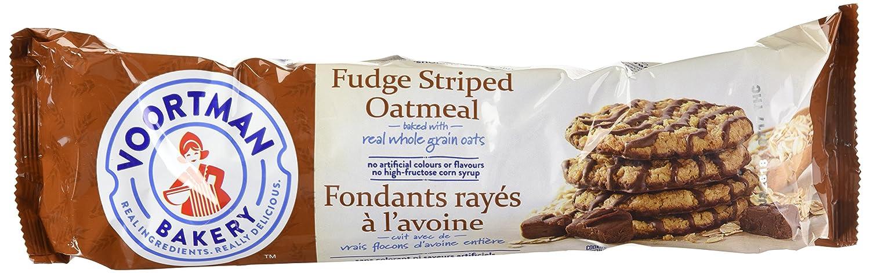 Voortman Fudge Striped Over item handling ☆ Oatmeal Cookies 12.3oz Portland Mall 4 bag pack of