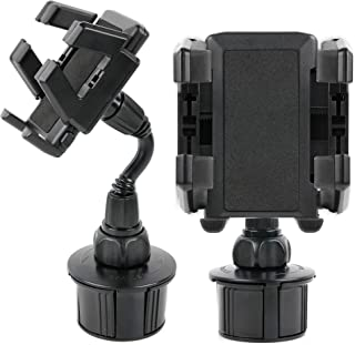 DURAGADGET Anti-Shock & Shake Proof in Cup Mobile Phone Holder Mount with Multiple Viewing Angles for Sony Xperia Z, Swissvoice SV39, Yota Smartphone, Wiko Rainbow, Wiko Getaway & Wiko Highway
