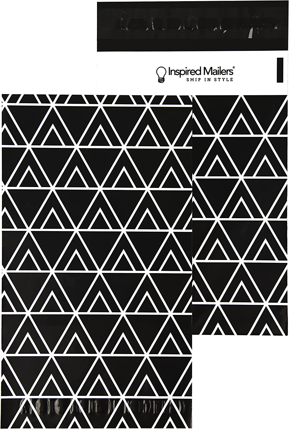 Inspired Tampa Mall Mailers - Poly 6x9-100 Pack Geome Ranking TOP12 Triangulate