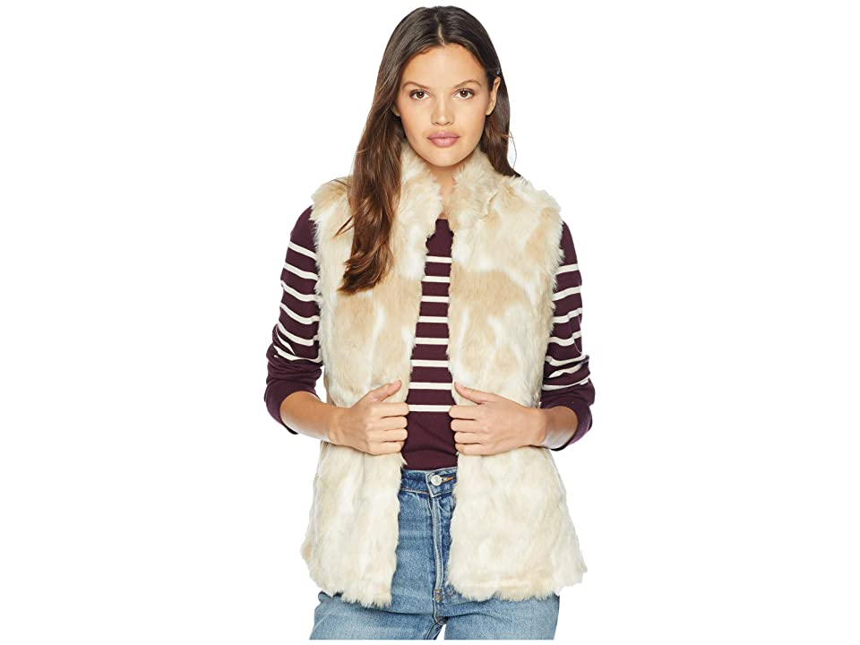 Jack by BB Dakota Fur What Faux Fur Vest (Ivory) Women
