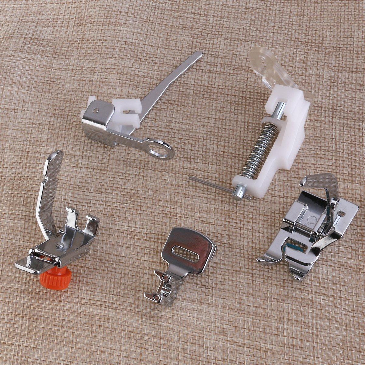ULTNICE 42pcs conjunto de máquina de coser doméstica pie ...
