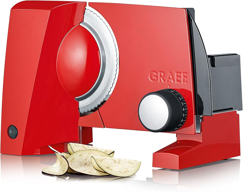 promocionales de incentivo Graef S 10003 Cortafiambres, 170 170 170 W, Aluminio, Rojo  precios mas baratos