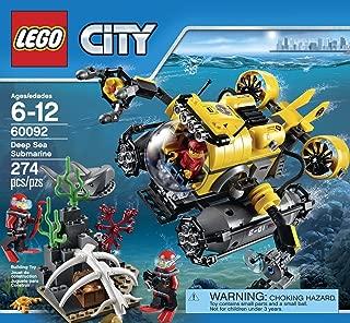 City LEGO 274 PCS Deep Sea Explorers Brick Box Building Toys