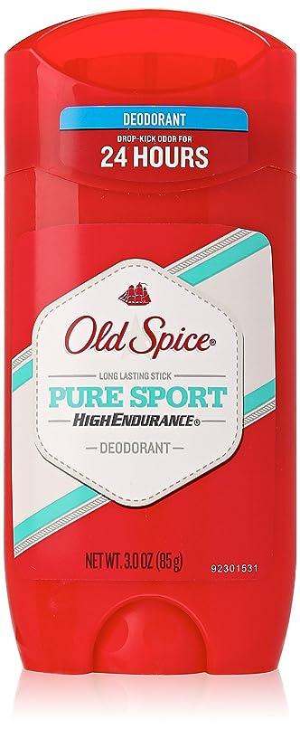 老人柔らかい不毛【Old Spice】オールドスパイス HEデオドラント(ピュアスポーツ) 3.0oz 85g