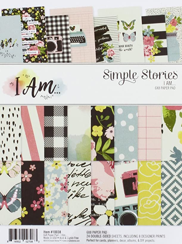 Simple Stories I Am… 6x8 Paper Pad