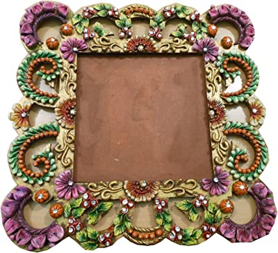 Home Decor Home Accent Decorative Vintage Designer Brass Wall Hanging photoframe/wooen with Metal/Antique photframe/Used for Office/corpotares Gift/Handcrafted/Handmade Items …