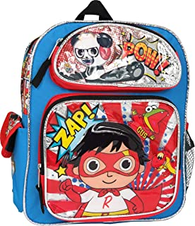 Ryan's World 12 inches Toddler Backpack