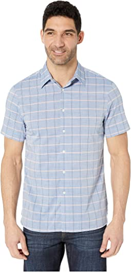 Slub Check Shirt with Spill Resist Properties
