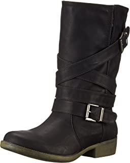 Women's Truly Westwood Pu Motorcycle Boot