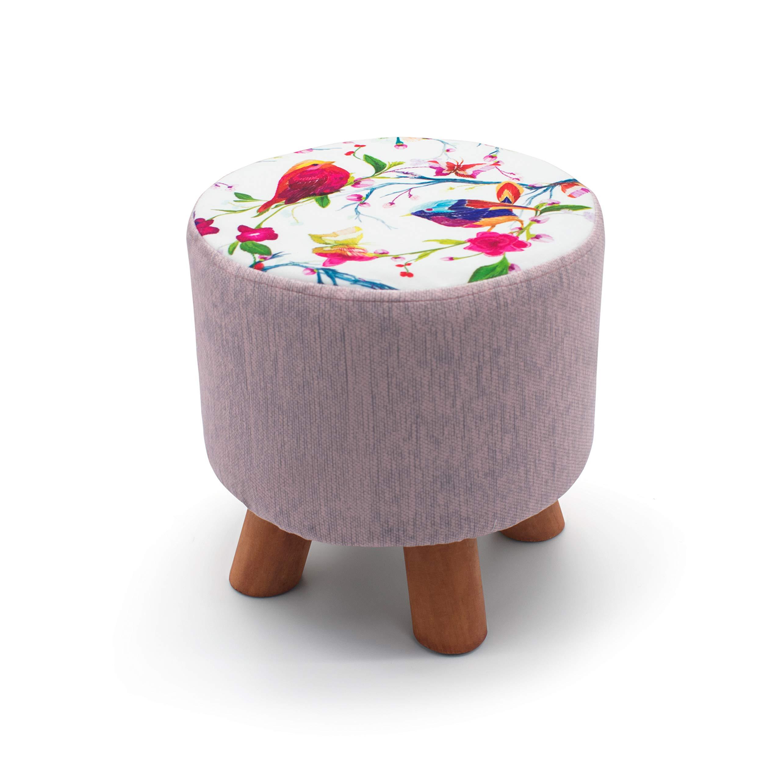 Large 2 Seater Crushed Velvet Fabric with Diamantes Foldaway Ottoman Stool Blanket Box Bench 76cms x 38cms Blush Pink