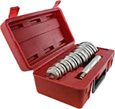 ABN Bearing Race and Seal Bush Driver Set with Carrying Case – Master/Universal Kit for Automotive Wheel Bearings