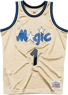 Anfernee Hardaway Orlando Magic NBA Throwback Jersey - Gold