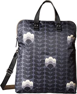 Orla Kiely - Buttercup Stem Printed Fold-Over Tote