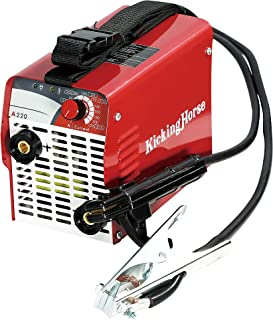 ARC STICK Welder 220V KickingHorse A220(UL). High Power High Rating 220A IGBT Welding Inverter. Ready to Use w/ 12AWG Power Cord and NEMA 6-50P