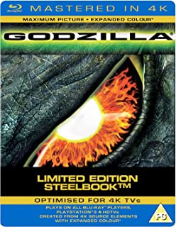 Godzilla (1998) (Blu-ray SteelBook) (Zavvi Exclusive)(WEA) [UK Import]