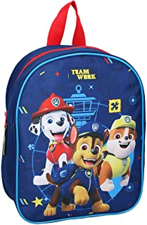Mochila infantil de La Patrulla Canina All Paws on Deck azul 29 cm