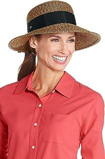 Coolibar UPF 50+ Women's Asymmetrical Clara Sun Hat - Sun Protective