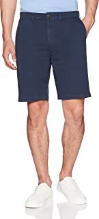 "Amazon Brand - Goodthreads Men's 9"" Inseam Flat-Front Comfort Stretch Chino Shorts"