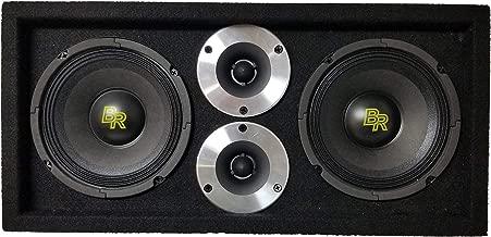 Bass Rockers Loaded 1,100 Watts Speaker Pod Box: Two 6
