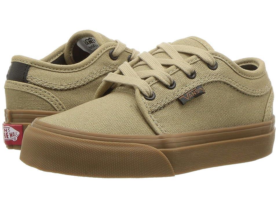 Vans Kids Chukka Low (Little Kid/Big Kid) ((Camoflage) Cornstalk/Gum) Boys Shoes