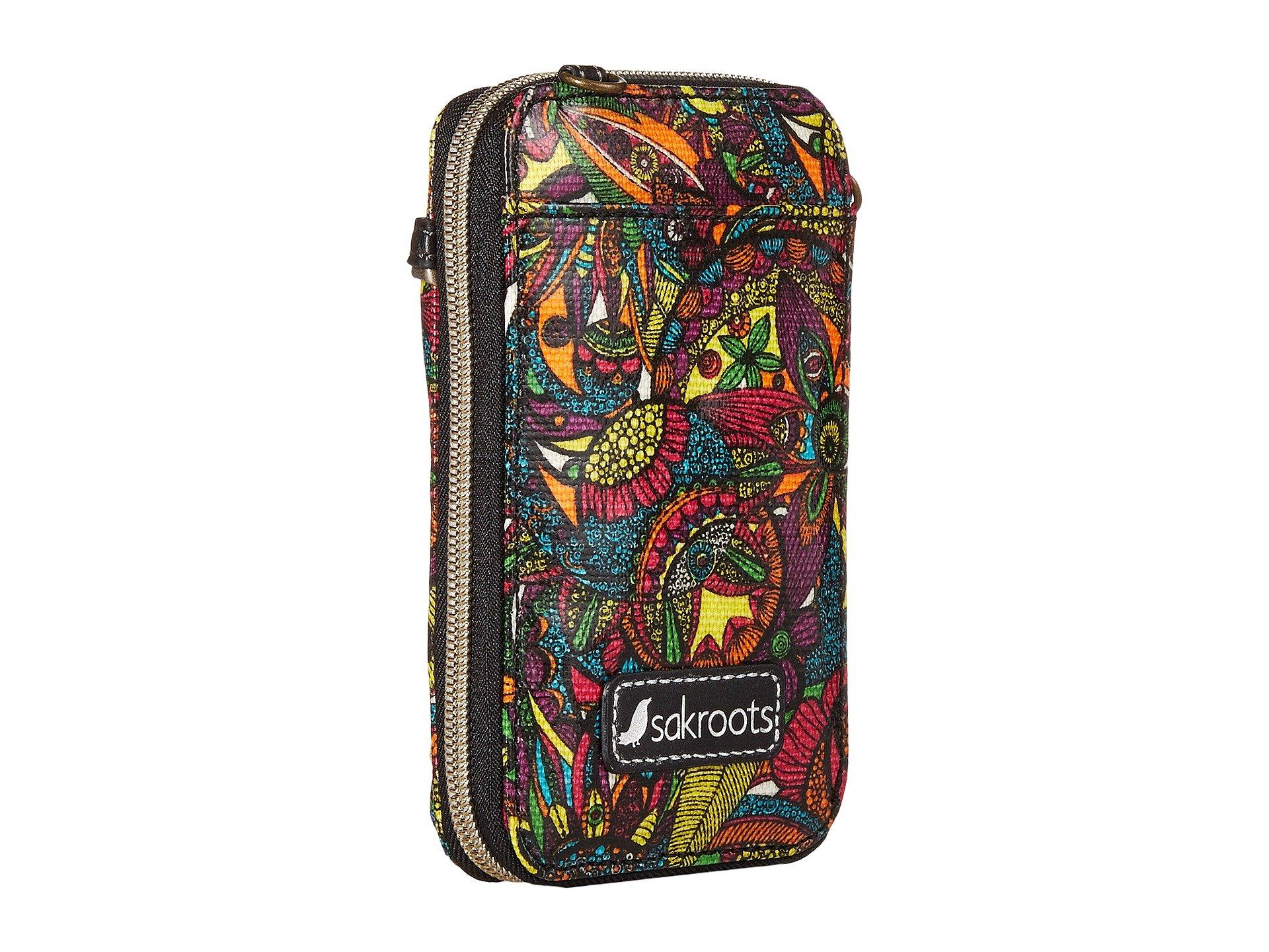 Circle Smartphone Spirit Desert Wristlet Artist Rainbow Sakroots BnwSxq5