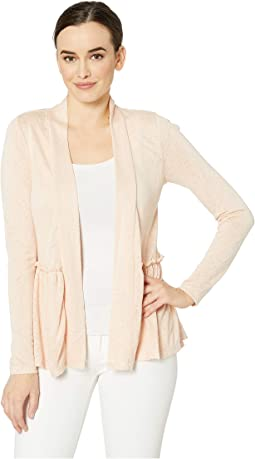 Long Sleeve Babydoll Back Cardigan